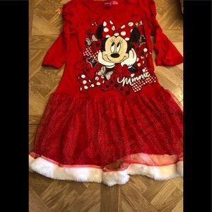 Minnie mouse dress size medium 7-8